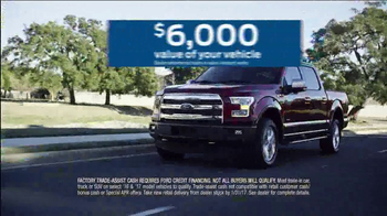2016 Ford F-150 XLT TV Spot, 'Get Paid to Trade' [T2] - Thumbnail 6