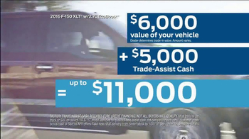 2016 Ford F-150 XLT TV Spot, 'Get Paid to Trade' [T2] - Thumbnail 7
