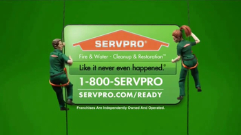 ServPro TV Spot, 'Factory' - Thumbnail 10