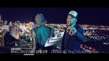 LoCash's Ring on Every Finger Sweepstakes TV Spot, 'Vegas Wedding' - 175 commercial airings