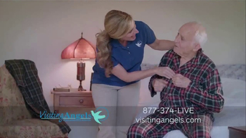 Visiting Angels TV Spot, 'We All Wear Many Hats' - Thumbnail 3