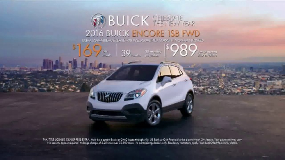 Subaru Forester Commercial Song >> 2016 Buick Encore TV Commercial, 'Borrow the Buick' Song ...