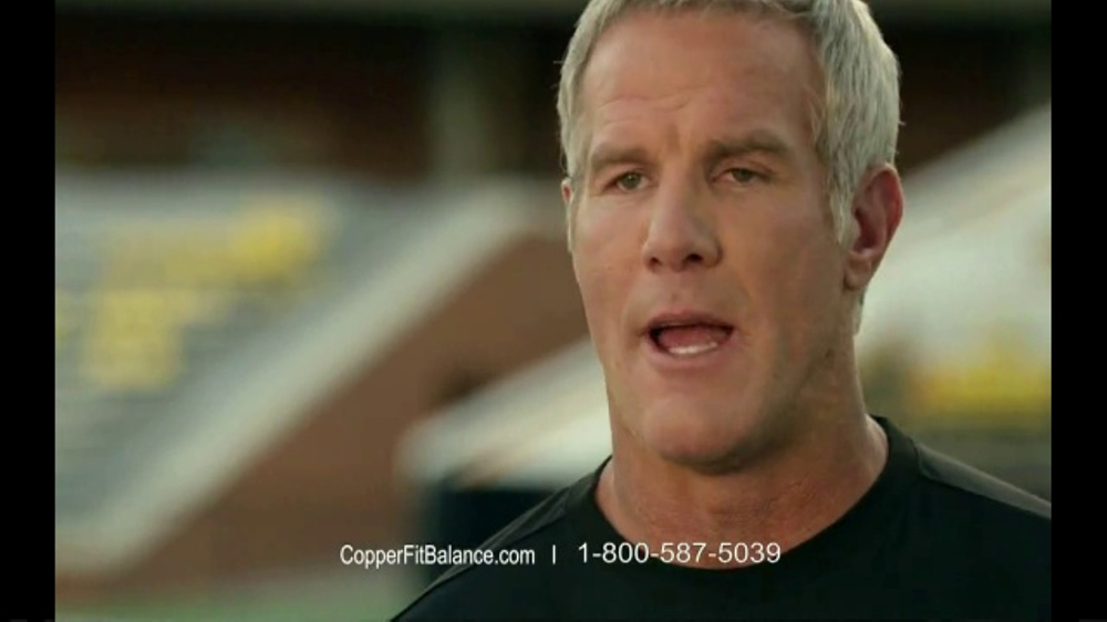 Copper Fit Balance TV Commercial, 'Foot Support' Featuring Brett Favre