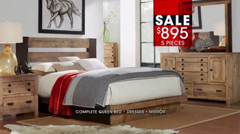 Rooms to Go January Clearance Sale TV Spot, 'Bedroom Styles' - Thumbnail 8