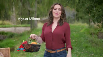 Atkins Harvest Trail Bars TV Spot, 'Happy Weight' Featuring Alyssa Milano - Thumbnail 1