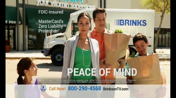 Brink's Prepaid MasterCard TV Spot, 'Peace of Mind' - 4642 commercial airings
