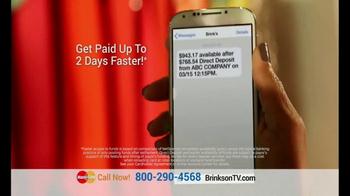 Brink's Prepaid MasterCard TV Spot, 'Peace of Mind' - Thumbnail 4