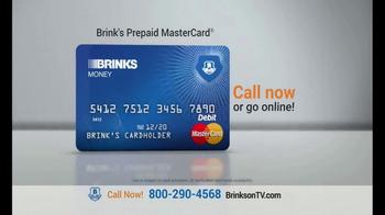 Brink's Prepaid MasterCard TV Spot, 'Peace of Mind' - Thumbnail 7