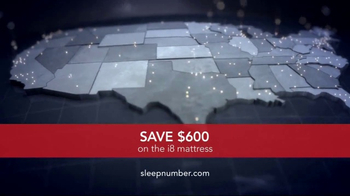 Sleep Number Lowest Prices of the Season TV Spot, 'i8 Mattress' - Thumbnail 9
