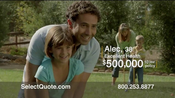 Select Quote Term Life Insurance TV Spot, 'Alec & Kenisha' - Thumbnail 2