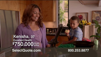 Select Quote Term Life Insurance TV Spot, 'Alec & Kenisha' - Thumbnail 3