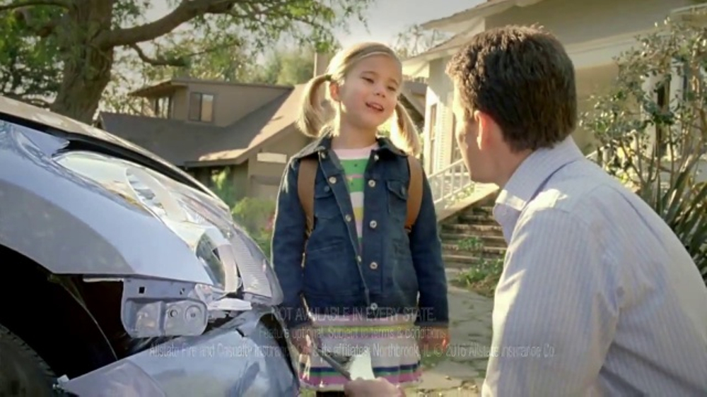 Allstate Accident Forgiveness TV Commercial, 'Smart Girl ...