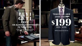 JoS. A. Bank Mid-Winter Sale TV Spot, 'Almost Everything' - Thumbnail 5