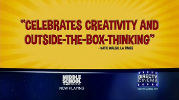 DIRECTV Cinema TV Spot, 'Middle School: The Worst Years of My Life' - Thumbnail 5