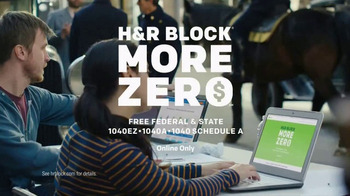 H&R Block More Zero TV Spot, 'Money-Colored' Featuring Jon Hamm - Thumbnail 9