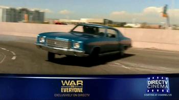 DIRECTV Cinema TV Spot, 'War on Everyone' - Thumbnail 1