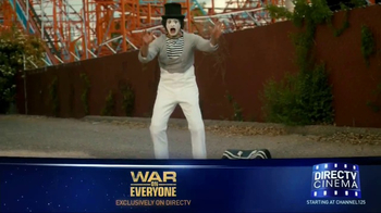 DIRECTV Cinema TV Spot, 'War on Everyone' - 115 commercial airings