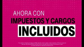 T-Mobile One TV Spot, 'Impuestos y cargos incluidos' [Spanish] - Thumbnail 3