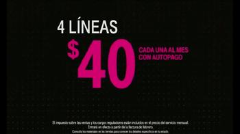 T-Mobile One TV Spot, 'Impuestos y cargos incluidos' [Spanish] - Thumbnail 5