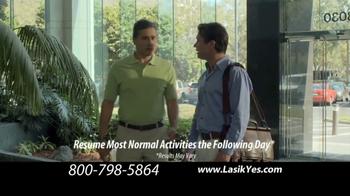 The LASIK Vision Institute TV Spot, 'Free Evaluation' - Thumbnail 3
