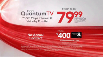 Frontier FiOS Quantum TV TV Spot, 'Personalized Entertainment' - Thumbnail 7