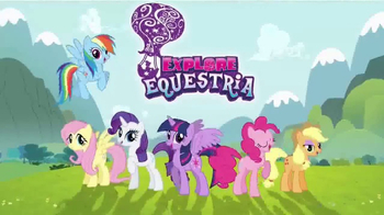 My Little Pony Rarity Fashion Runway TV Spot, 'Spin Into Style' - Thumbnail 2