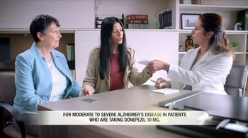 Namzaric TV Spot, 'Caregivers' - Thumbnail 3