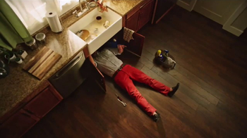 Mr. Rooter Plumbing TV Spot, 'Leaky Sink'