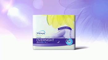 TENA Overnight TV Spot, 'Sweet Dreams' - Thumbnail 4