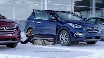 Hyundai TV Spot, 'Traction Control: Test Drive' [T2] - 99 commercial airings