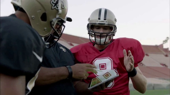 Microsoft Surface TV Spot, 'NFL Sidelines: Falcons vs. Saints' - Thumbnail 10