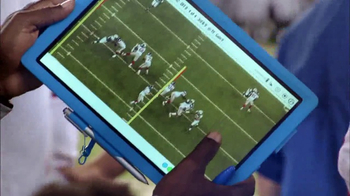 Microsoft Surface TV Spot, 'NFL Sidelines: Falcons vs. Saints' - Thumbnail 3
