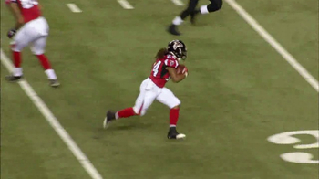 Microsoft Surface TV Spot, 'NFL Sidelines: Falcons vs. Saints' - Thumbnail 7