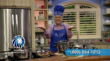 Royal Prestige Innove TV Spot, 'Garantía' con Chef Pepín [Spanish] - 3 commercial airings