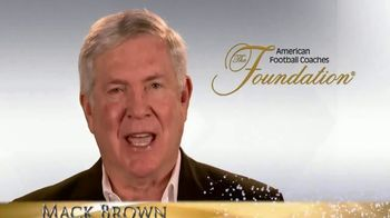 American Football Coaches Foundation TV Spot, 'Our Team' Feat. Mack Brown - 2 commercial airings