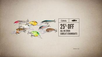 Cabela's Spring Great Outdoor Days Sale TV Spot, 'Crankbaits' - Thumbnail 5