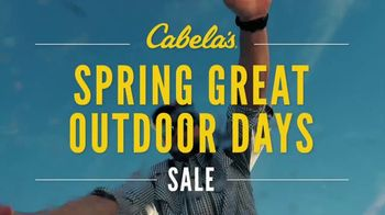 Cabela's Spring Great Outdoor Days Sale TV Spot, 'Crankbaits' - 34 commercial airings