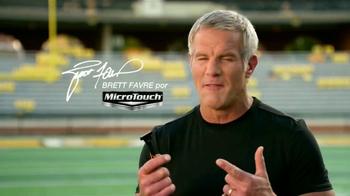 MicroTouch Tough BladeTV Spot, 'Número uno' con Brett Favre [Spanish] - Thumbnail 1