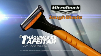 MicroTouch Tough BladeTV Spot, 'Número uno' con Brett Favre [Spanish] - 259 commercial airings