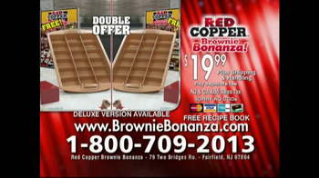 Red Copper Brownie Bonanza TV Spot, 'No Sticking' Featuring Cathy Mitchell - Thumbnail 9