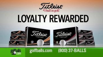 Golfballs.com TV Spot, 'Free Personalization: Titleist' - Thumbnail 2
