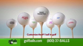 Golfballs.com TV Spot, 'Free Personalization: Titleist' - Thumbnail 4