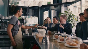 AT&T Unlimited Plus TV Spot, 'Coffee Shop' Feat. Dan Finnerty, Greg Gumbel