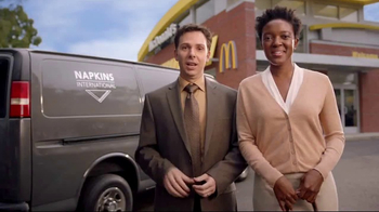 McDonald's Quarter Pounder Burgers TV Spot, 'Napkins International' - Thumbnail 1