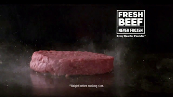 McDonald's Quarter Pounder Burgers TV Spot, 'Napkins International' - Thumbnail 3