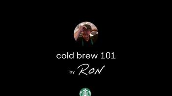 Starbucks TV Spot, 'Cold Brew 101 by Ron' - Thumbnail 2