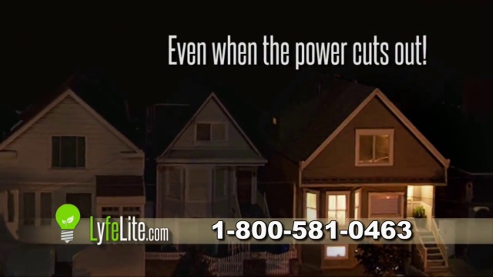 LyfeLite TV Commercial, 'Keeps Your Lights On'