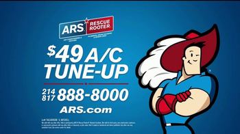 ARS Rescue Rooter TV Spot, 'A/C Tune Up' - Thumbnail 9