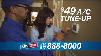 ARS Rescue Rooter TV Spot, 'A/C Tune Up' - Thumbnail 7