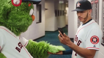 MLB.com At Bat App TV Spot, 'Fast Hands' Featuring Carlos Correa - Thumbnail 7